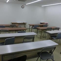 2階は30人収容可能な講義室