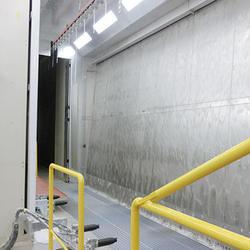 自動塗装ブース、縦吊り3.5m対応