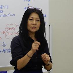「伝えることで行動が変わる」とヨザン弥江子社長