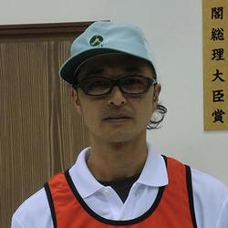 内閣総理大臣賞を受賞した清水義行氏