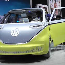 2022年に発売されるI.D.BUZZ(VW)