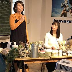 久米さんと瀧本さんのトークショーは大人気