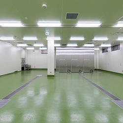 塗り床は工場建設の重要部分