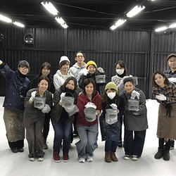 第1回PAINTRANCEの参加者。右端が大野社長。