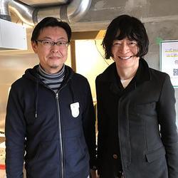 住友林業・関口祐輔氏(左)とナインの久田カズオ氏