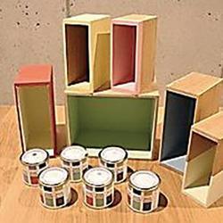 本棚を彩る塗料をセットに