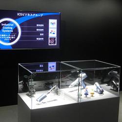 5つの製品展示コーナーを設置