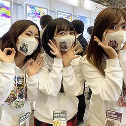 """""""3姉妹""""が高機能塗料展に参加"""