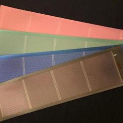 加飾フィルムを貼った太陽電池