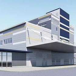 新工場棟完成予想図