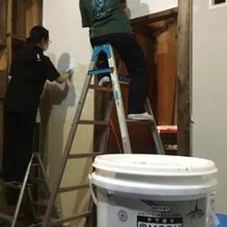 「手で塗るMORUMORU」を施工