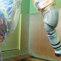 上塗り用塗装ロボット